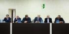 Аслан Бжания представил активу Очамчырского района нового исполняющего обязанности  Главы Администрации  Беслана Бигвава